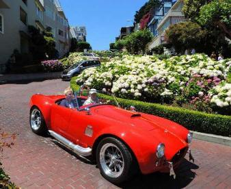 Small-Group City Guided Tours & attractions like Lombard street